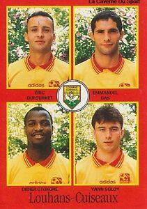 N-341-OTTOKORE-LOUHANS-CUISEAUX-VIGNETTE-PANINI-FOOTBALL-97-STICKER-1997