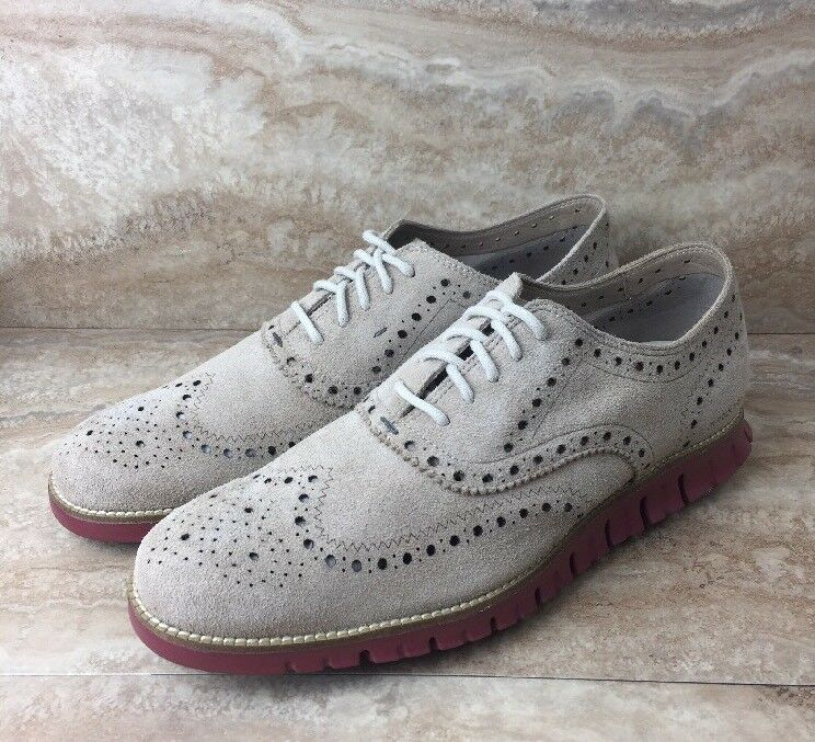 Cole Haan Zerogrand Wing Ox Oxfords Oxfords Oxfords Dress Shoes Uomo Barley / TBT Red 1627f7
