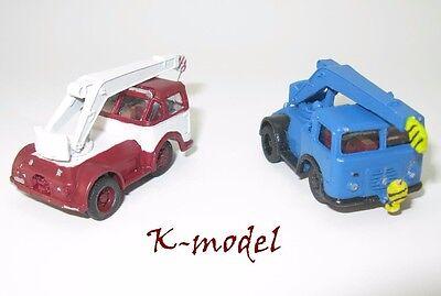 Autos, Lkw & Busse Auto- & Verkehrsmodelle 1:87 Ho Delikatessen Von Allen Geliebt PräZise Puma Iii/3 Adk Kabelgesteuerter Kranwagen
