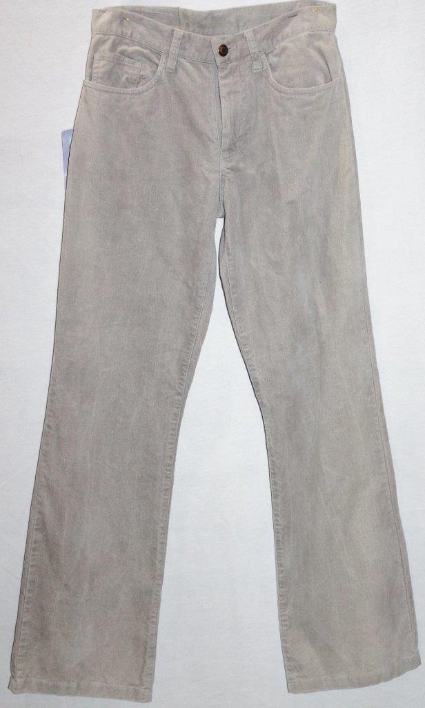 WEST SURF Brand Beige Mid Rise Straight Leg Corduroy Jeans Größe XS BNWT  SX01