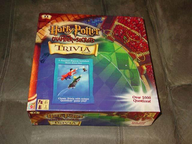 MATTEL - Harry Potter and the Chamber of Secrets - Trivia Game - 1000+ Questions