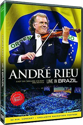 ANDRE RIEU LIVE in BRAZIL DVD NEW Region Free