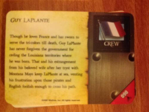 Pirates Fire /& Steel #090 Guy LaPlante Pocketmodel Mint