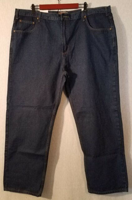 Mens Field N Forest Jeans Sz46x30 Relaxed Fit, Straight Leg NWT List#623D