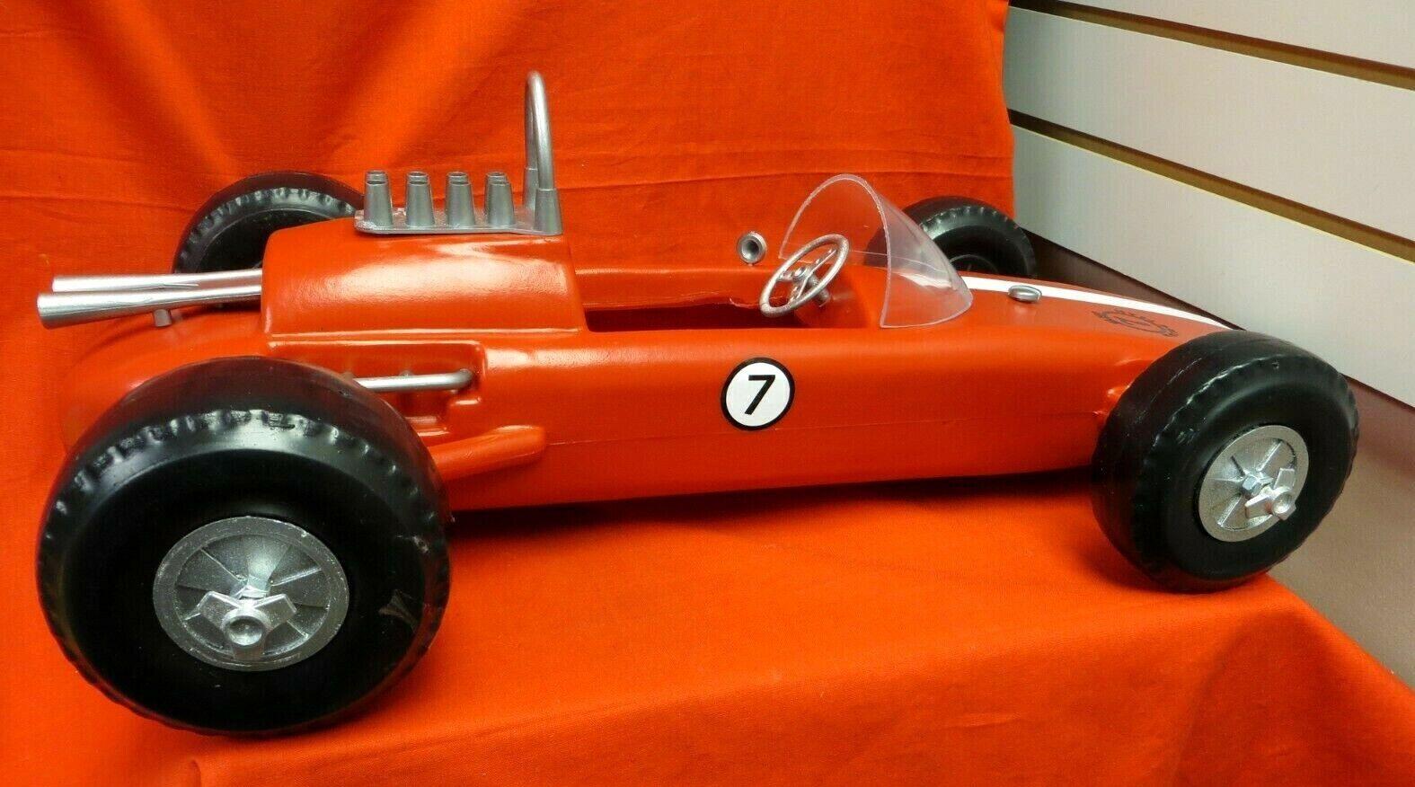 VINTAGE GI JOE 1964  JOEZETA     CUSTOM   RED  TRIBUTE OF THE 1967 RACE CAR