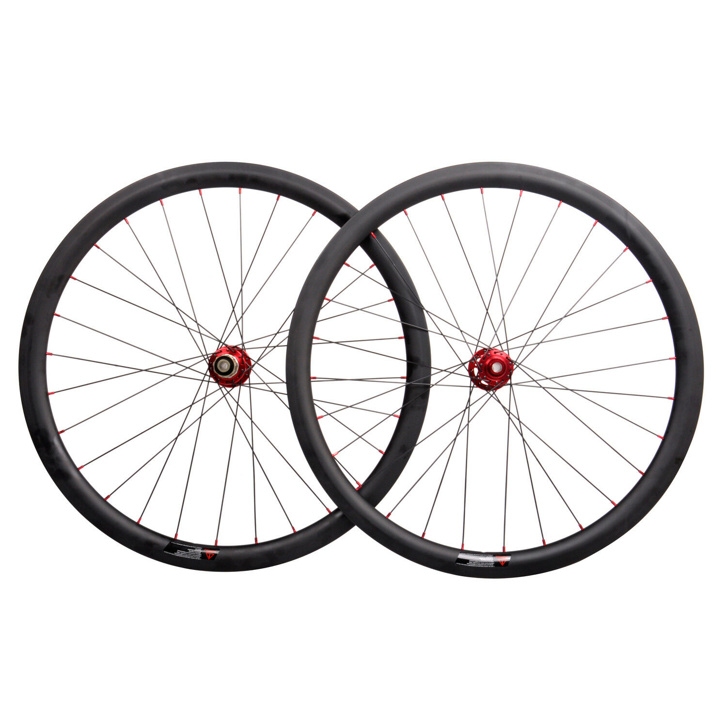 38mm Carbon Wheel Disc Brake Clincher Road Bike 700C Novatec UD Matt Rim DT 11s