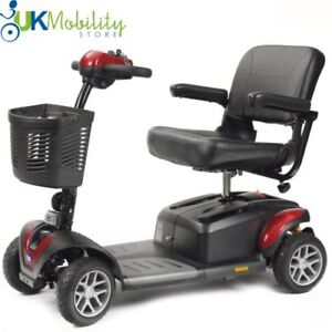 NEW TGA Zest Plus Portable Mobility Boot Scooter -  Advanced Full Suspension