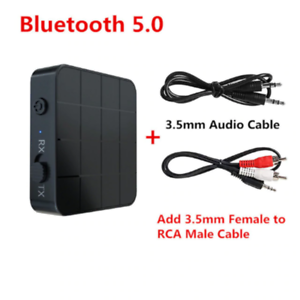 Bluetooth 5.0 Audio Receiver Transmitter AUX RCA 3.5MM Jack USB Music Stereo A88