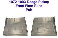 1972 1993 Dodge Regular & Club Cab Truck & Ram Charger Floor Pans New Pair