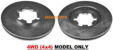 FOR NISSAN NAVARA D22 4WD 2.5TD 02 03 04 05 06 07 08 FRONT BRAKE DISC SET 4x4