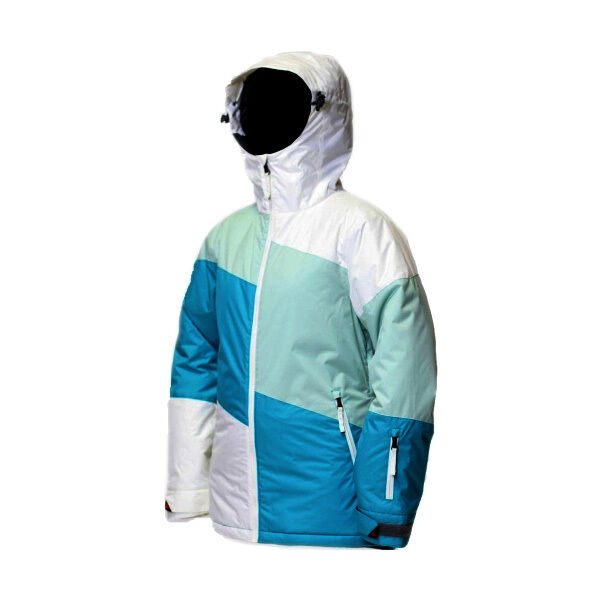 Turbine Boardwear Miss Ellie Ski Snowboard Jacket Coat - Caribbean Blau (Medium)