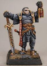 Marcus Crusaders Hero Reaper Miniatures Warlord RPG Paladin Fighter Melee Sword