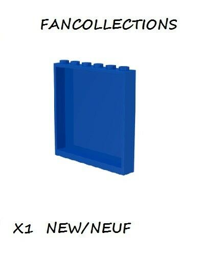 LEGO  X 1 - Blue Panel 1 x 6 x 5- 59349 NEUF