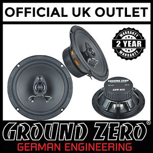 Seat-Leon-Cupra-Mk2-Ground-Zero-240W-16-5cm-2way-Coaxial-Front-Door-Car-Speakers
