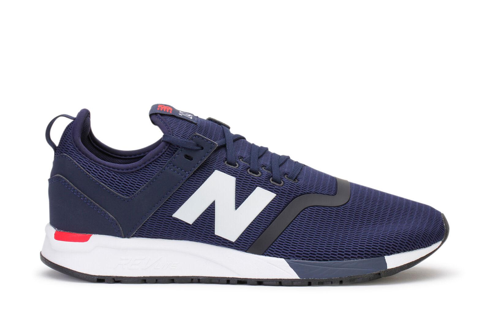 New Balance Men's Lifestyle Sneakers 247 Decon Pigment Cerise MRL247DH