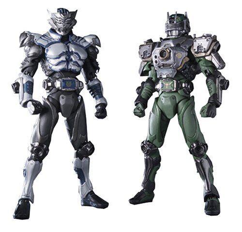 Nuevo S. I. C. Vol.27 Masked Kamen Rider Ryuki Zolda & Tiga Figura de Acción