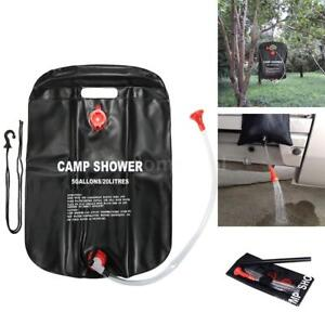 Image Is Loading 20l 5 Gal Solar Energy Heated Camp Shower