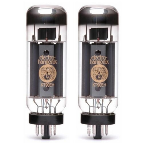 Brand New Current Matched Pair 2 Electro-Harmonix KT90 Vacuum Tubes