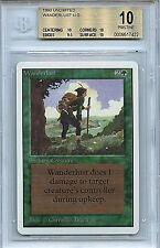 MTG Unlimited Wanderlust BGS 10.0 (10) Pristine Mint Magic Card WOTC 7422