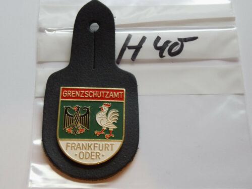 Polizei Brustanhänger BGS Grenzschutzamt Frankfurt Oder h40