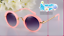 New-Hot-Goggles-Metal-Glasses-Kids-Girls-Boys-Anti-UV-Wild-Fashion-Sunglasses miniature 24