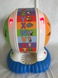 Leap Frog Abc Spin Sing Alphabet Zoo Discovery Spinner Wheel Ball