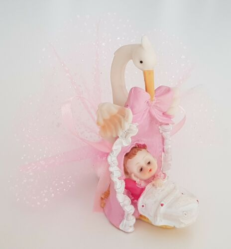 1X bebek sekeri Battesimo mevlid mevlüd Matrimono Gastgeschenke Taufe Storch