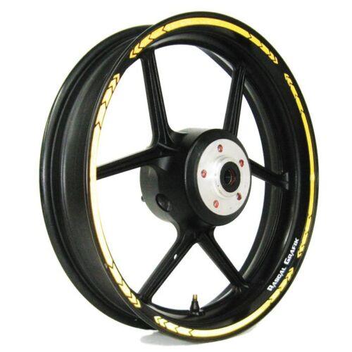 17/'/' wheel trim /'YELLOW Reflec/' Rascal Grafik almost Univer Strip Kit RA36899