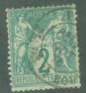 FRANCE-65-2c-CANCELLED-ISSUED-1876-1878-VERY-NICE-CONDITION-BOOK-VALUE-250-00