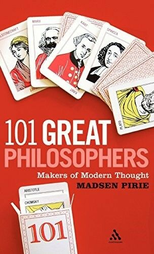 Very Good, 101 Great Philosophers: Makers of Modern Thought, Madsen Pirie, Book