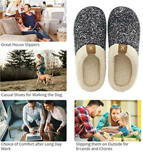 MENS-WOMENS-FUR-LINED-SLIP-ON-WINTER-WARM-SLIPPERS-SHOES-SIZE-NEW-HARD-SOLE