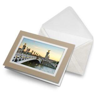 Greetings-Card-Biege-Alexandre-III-Bridge-Paris-France-8912