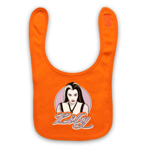 LILY MUNSTER THE MUNSTERS UNOFFICIAL COMEDY TV SHOW BABY BIB CUTE BABY GIFT