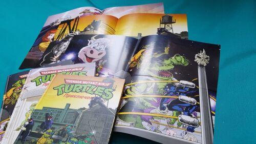POSTERS *RARE* Ninja Turtles Archie TMNT Adventures 1-8 RUSSIAN Chris Allan