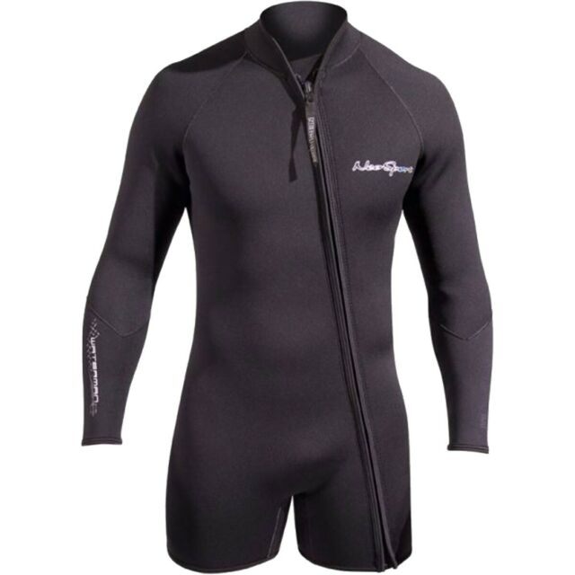 NeoSport Mens Premium Neoprene 3mm Waterman Wetsuit Jacket