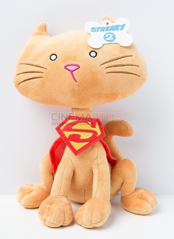 DC Super Pets Plush - Streaky Super Cat Pupazzo Peluche Di Supergirl DC Comics  | Toy Story