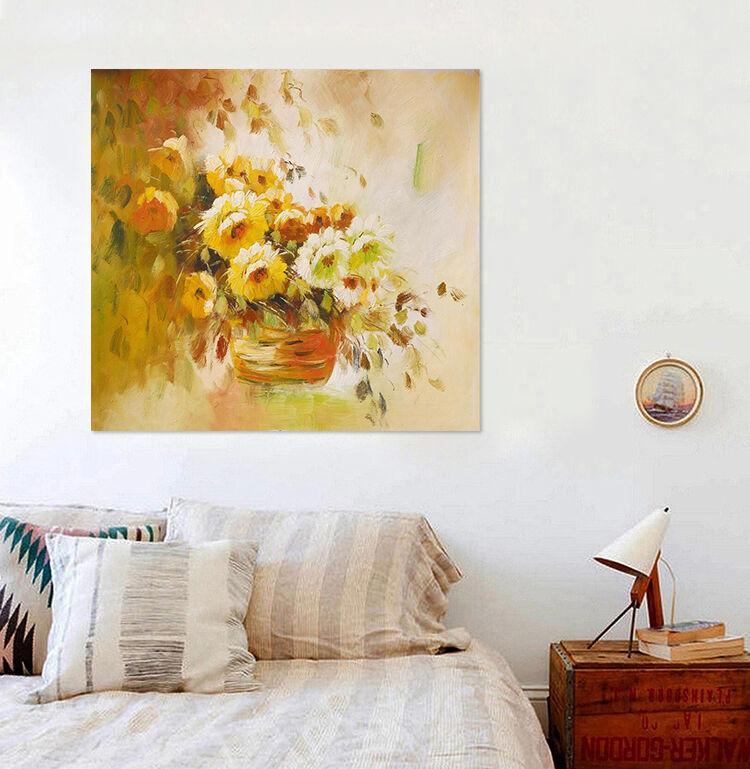 3D SonnenBlaume Blaumenkorb 843  Fototapeten Wandbild BildTapete AJSTORE DE Lemon
