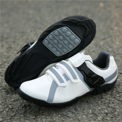 Details about  /Cycling Shoes Men Lock-Free Road Biking Shoes MTB Spin Rubber Sole Bike Sneakers