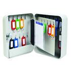 5 Star Facilities Key Cabinet Steel Lockable With Wall Fixings Holds 30 Keys W16