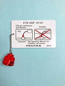 PENTAX OF-C4 ETO Cap for Gas Sterilization, Aeration & Shipping, NEW & OEM!!!