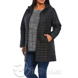 NWT The North Face TNF Plus Size ThermoBall Hooded Parka Puffer Jacket Coat