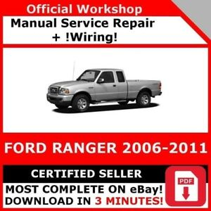 image is loading factory-workshop-service-repair-manual-ford-ranger-2006-