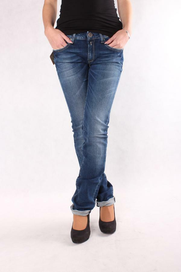 REPLAY WX670 471 122 009 NADIE Blaue Jeans Damen Mode