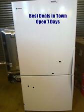 510l bottom mount fridge wbm5100wrl open 4 inspection 7 days