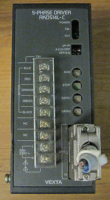 Bipolar RKD514L-A 5-Phase Driver Pentagon Microstep Driver Single-Phase 200//230 VAC