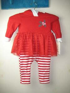 849bf93d46e40 NWT Cat and Jack Baby Girl Christmas/Holiday Outfit Ruffle Tutu * | eBay