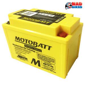 Motobatt Battery For Honda CRF450X 450cc 05-14