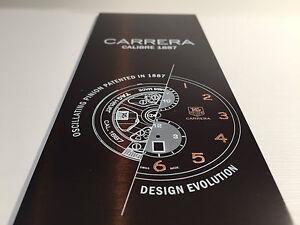 Plate-Plaque-Tag-Heuer-Carrera-Calibre-1887-32-5-cm-x-7-5-Cm-for-Collectors