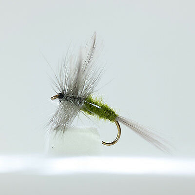 Dragonflies 12 Chalk Stream Dries 6 patterns Trout /& Grayling Flyfishing Flies