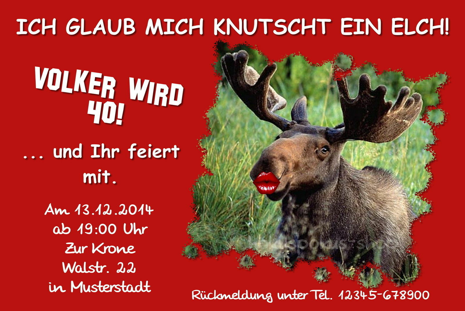 50 lustige Einladungskarten Geburtstag Einladungen jedes Alter möglich 18 30 40   | Ideales Geschenk für alle Gelegenheiten  | München Online Shop